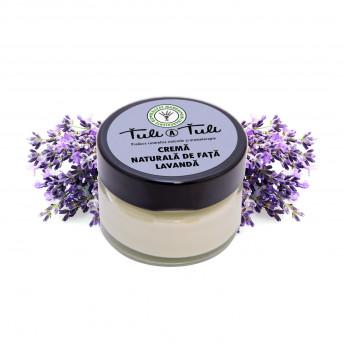 Crema 100% Naturala pentru fata, cu Lavanda, 50 ml, Tuli a Tuli