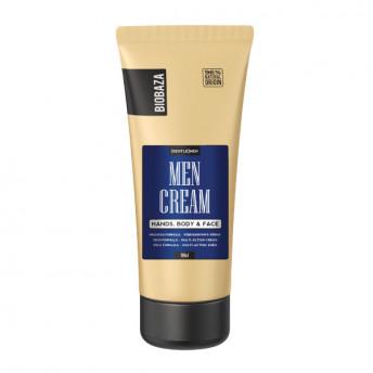 Crema naturala multifunctionala pentru barbati (maini, corp, fata), Biobaza, 100 ml