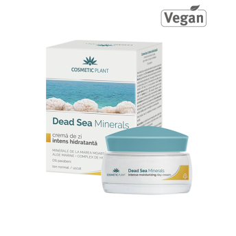 Crema de zi intens hidratanta cu minerale de la Marea Moarta, 50 ml, Cosmetic Plant