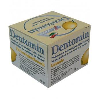 Dentonim, Praf Dinti Spumant cu Lamaie, 25 g