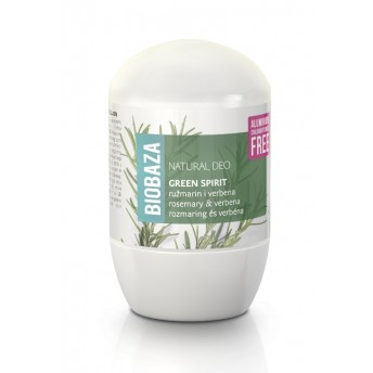 Deodorant natural pentru femei GREEN SPIRIT (verbina si rozmarin) - BIOBAZA
