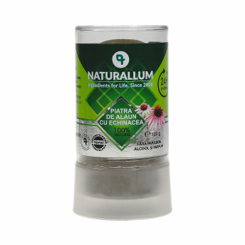 Deodorant Piatra de Alaun cu Echinaceea, 120 gr