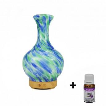 Difuzor Aromaterapie Savonia Univers, 120 ml + Ulei Lavanda