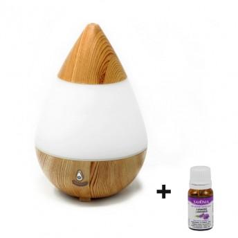 Difuzor Aromaterapie Zambet Conic, 235 ml  - cu USB + Ulei Lavanda