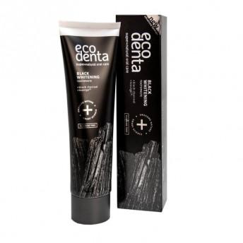 Pasta de dinti pentru albire Extra Black cu carbune si Teavigo, Extra, Ecodenta, 100ml