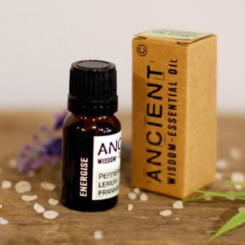Energizant - Mix Uleiuri Esentiale Naturale Pure - 10 ml, Ancient Wisdom