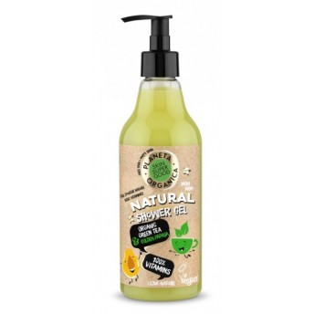 Gel de dus natural Vitamins Skin Supergood, 500ml - Planeta Organica