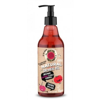 Gel de dus natural Cherry Splash Skin Supergood, 500ml - Planeta Organica