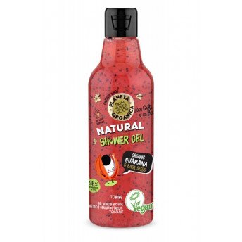 Gel de dus Skin Supergood cu guarana si seminte de busuioc, 250ml - Planeta Organica