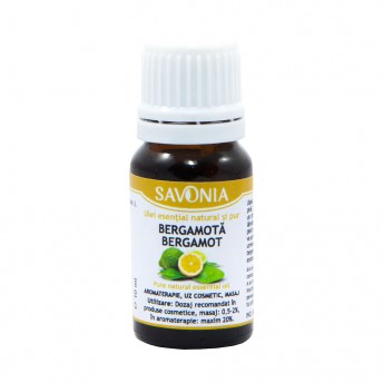 Bergamota - Ulei esential natural si pur
