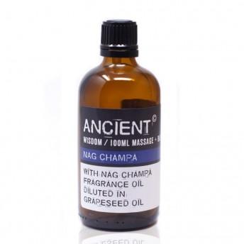Ulei pentru masaj cu Nag Champa, 100 ml, Ancient Wisdom