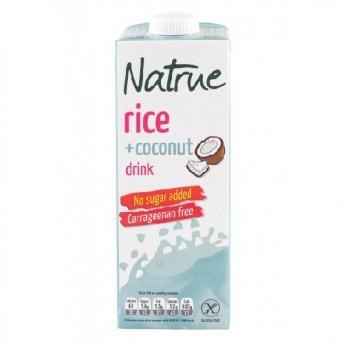 Lapte vegetal din Orez cu Cocos 1l, Natrue
