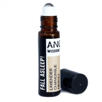 Roll-on uleiuri esentiale Fall Asleep! (lavanda, musetel, neroli), 10ml - Ancient Wisdom