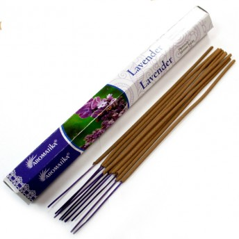 Betisoare naturale parfumate, Lavanda - 20 buc.