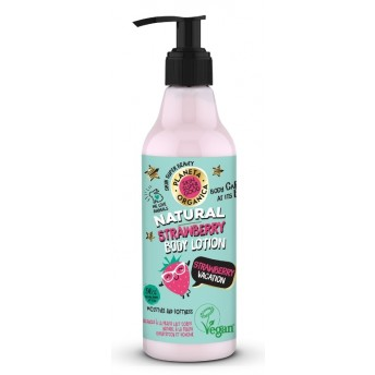 Lotiune de corp Skin Supergood cu capsuni Strawberry Vacation, 250ml - Planeta Organica