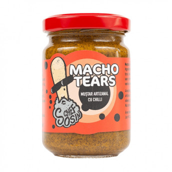 Macho Tears - Muștar indian cu chilli - 150g - Chef Sosin