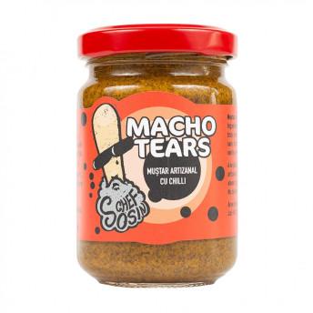 Macho Tears - Muștar indian cu chilli - 150g - Chef Sosin