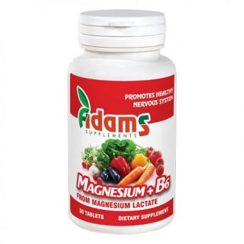 Magneziu+B6 30 tablete
