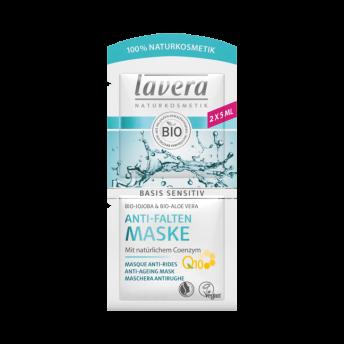 Masca antirid pentru toate tipurile de ten, coenzima Q10, Basis Sensitiv - LAVERA