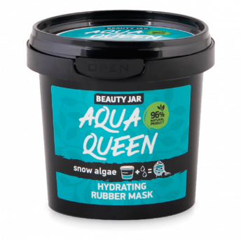 Masca faciala alginata hidratanta cu extract de alge, Aqua Queen, Beauty Jar, 20g