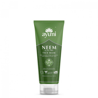 Masca faciala cu Neem & Tea Tree, Ayumi, 100 ml