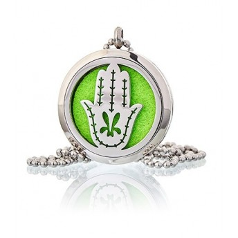 Colier aromaterapie Hand of Fatima, 30mm - Ancient Wisdom