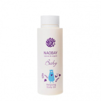 Ulei de corp BIO relaxant pentru copii, Naobay, 200 ml