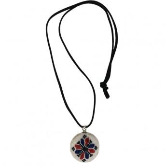 Colier Motive Traditionale - Steaua cu Opt Colturi, Handmade, Savonia