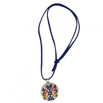 Colier Motive Traditionale - Tricolorul, Handmade, Savonia