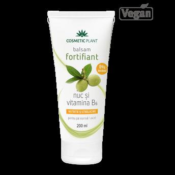 Balsam fortifiant pentru par, Nuc şi Vitamina B6, 200 ml, Cosmetic Plant