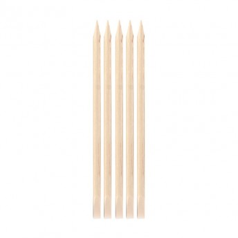 Set betisoare de lemn pentru cuticule, 5 bucati