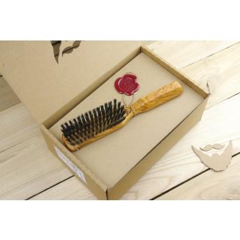 perie pentru barba lemn maslin