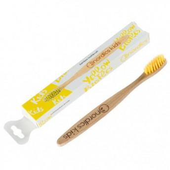 Periuta de Dinti Bambus, pentru copii, peri galbeni