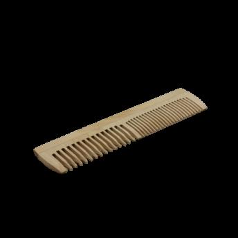 Pieptene dublu din lemn de fag, 20 cm