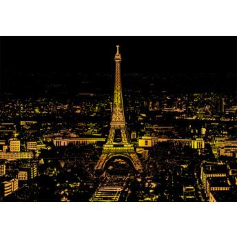 Plansa de razuit A3 - terapie prin Arta - Paris
