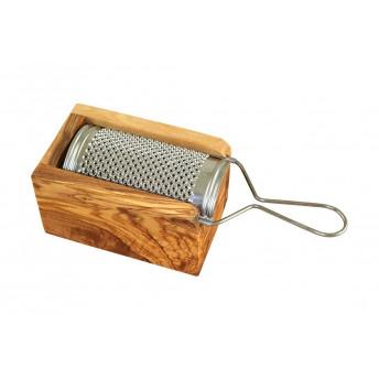 Razatoare Branza si cutie incorporata din Lemn de Maslin