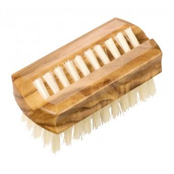 Mini perie maini si unghii,lemn maslin, peri sisal