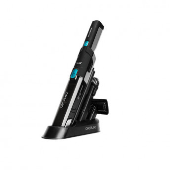 Aspirator de mana portabil Cecotec RockStar 5443, 2 moduri Eco/Turbo, Ciclonic, Baterie detasabila Li-Ion 2000 mAh, 120W
