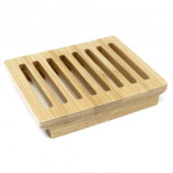 Sapuniera Patrata din lemn de Hemu