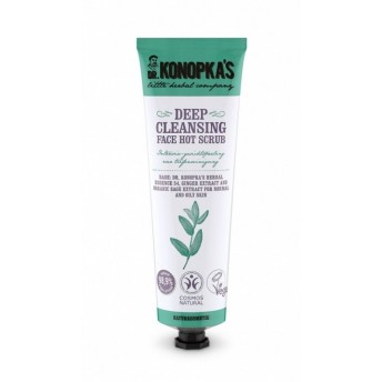 Scrub de curatare in profunzime ten normal & gras, 75 ml - Dr. Konopka