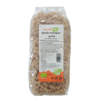 Spirale eco spelta, Petras Bio, 400 g