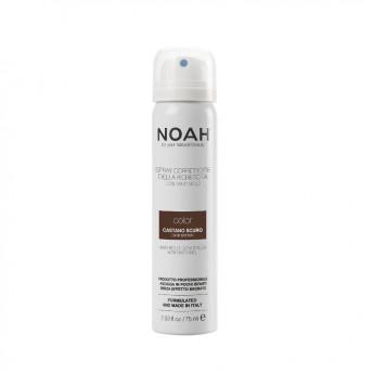Spray corector cu vitamina B5 pentru acoperirea radacinii parului - CASTANIU INCHIS, Noah, 75 ml