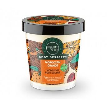 Sufleu delicios pentru corp Moroccan Orange, 450 ml - Organic Shop