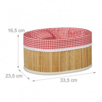 Suport din Bambus pentru paine, 33 x 23 cm