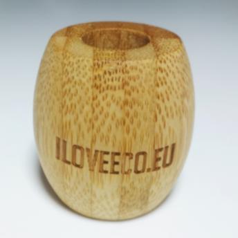Suport Bambus periuta de dinti - ILOVEECO.EU