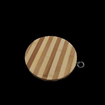 Tocator din Bambus, Rotund, 25 cm