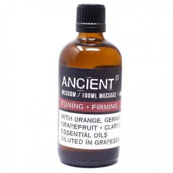 Ulei pentru masaj Toning & Firming, 100 ml, Ancient Wisdom