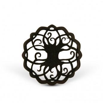 Amuleta din Lemn - The Tree of Life, Negru