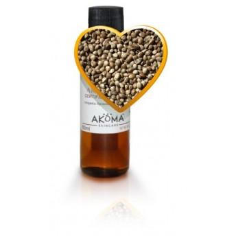 Ulei din seminte de canepa presat la rece, nerafinat, 60 ml - Akoma Skincare