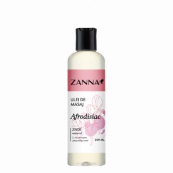 Ulei de masaj Afrodisiac cu Ylang-Ylang si Santal, 200ml, Zanna